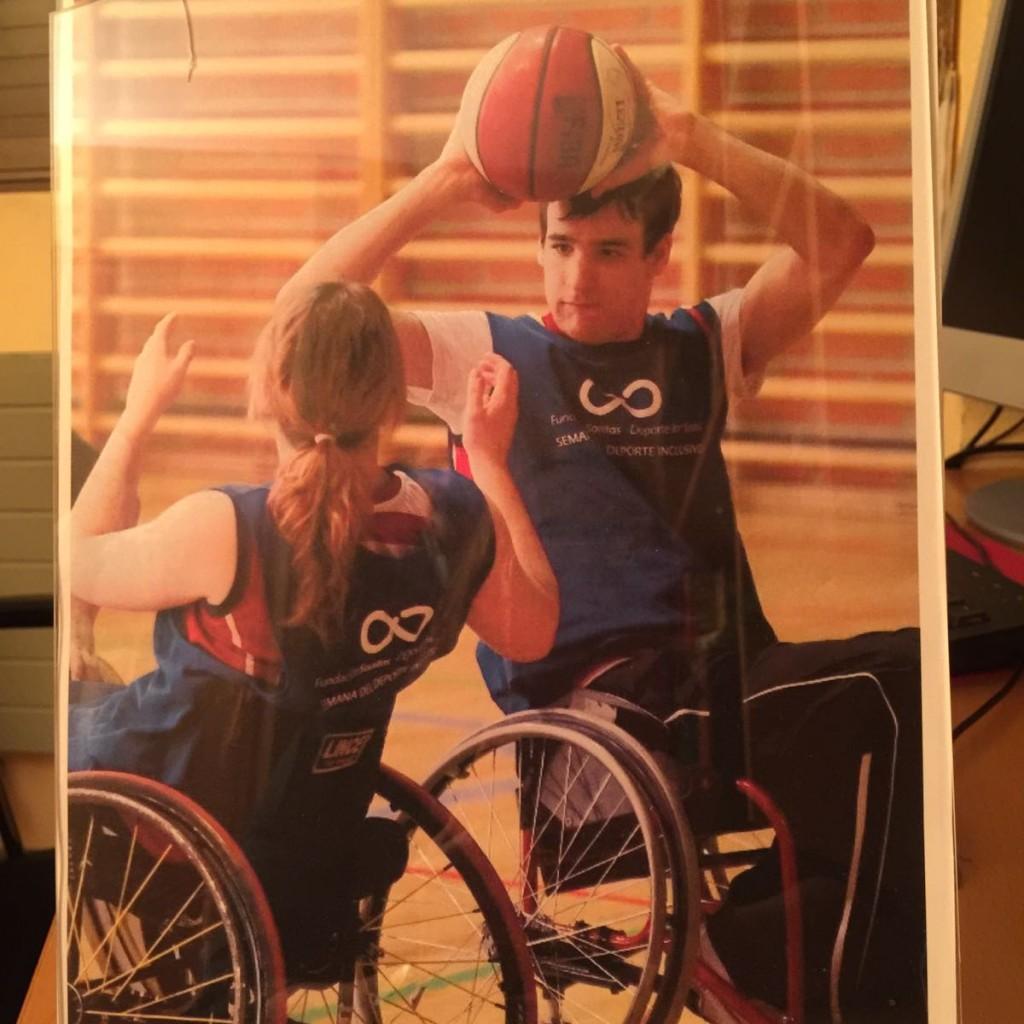 baloncesto adaptado silla de ruedas